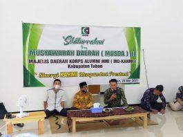 Musda III KAHMI Tuban, 5 Kader Terbaik Terpilih Jadi Presidium